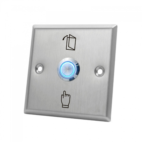 Stainless Steel LED Door Exit Release Button SAC-B21A